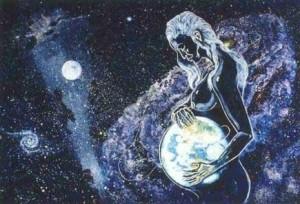 pregnantblue2 Goddess